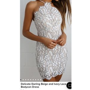 Lulu's lace dress